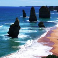 Южный океан, берег Австралии. 12 апостолов :: Генрих