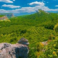 крымская горная долина :: Андрей Козлов