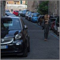 Рим. Дама с собачкой. :: Михаил Розенберг