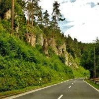 По  дорогам  Франконской  Швейцарии :: backareva.irina Бакарева