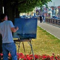 На Набережной Лейтенанта- Шмидта... :: Sergey Gordoff