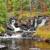 Рускеальский водопад Ахвенкоски :: Елена (ANEL-VP) .