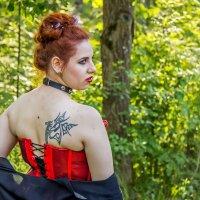Девушка с татуировкой. :: Александр Лейкум