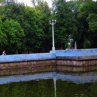 Пейзаж с фонарем :: Александр Сапунов