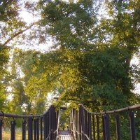Мост через реку Большой Кинель. Весна. :: Наталья Ильина