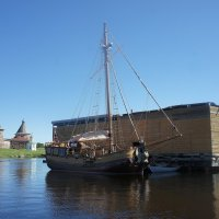 Восстановленная яхта «Святой Петр» :: Елена Павлова (Смолова)