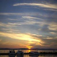 закат над озером Исетское :: Pavel Kravchenko