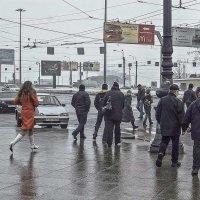 Санкт-Петербург. Спешка на пути к храму. :: Игорь Олегович Кравченко