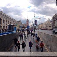 В городе на Неве дождь. :: Татьяна