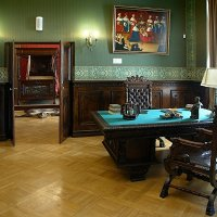 Кабинет и спальня хозяина замка :: san05 -  Александр Савицкий