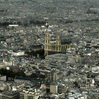 Панорама Парижа. Церковь Сен-Сюльпис. :: ИРЭН@ .