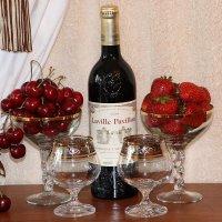 Вино с ягодами :: Надежд@ Шавенкова