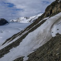 подъём над ледником :: Георгий