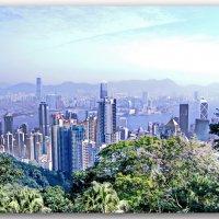 Гонг-Конг. Вид на город с Пика Виктории :: Андрей K.