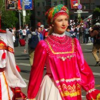 Парад наций. Перед первым матчем в Саранске :: Люба (Or.Lyuba) Орлова