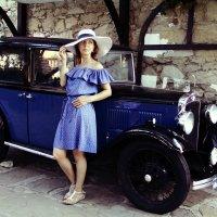 Дама в шляпке. :: виктор омельчук