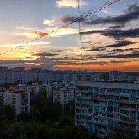 закат в СВАО г.Москвы! :: megaden774