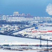 Зима в пригороде :: Дмитрий Юдаков
