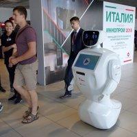 Робот компании УГМК-Здоровье :: Наталья Т