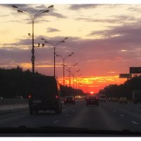 В дороге :: Екатерррина Полунина