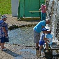 Минеральная вода в любом количестве. :: Наталья