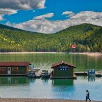 Lake Minnewanka. Alberta. Canada :: Andy Zav