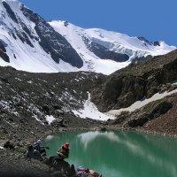 высокогорное озеро на Актру :: nataly-teplyakov