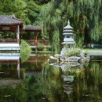 Чайный домик у озера :: Татьяна Каримова