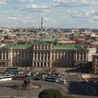Петербург вид с Исаакиевского  собора :: Сергей Бойко