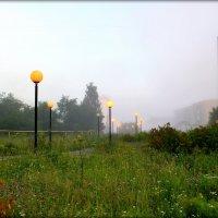 Город..утро..туман.. :: Александр Шимохин