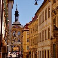 Оживленно ,и многолюдно в городе Бамберге :: backareva.irina Бакарева