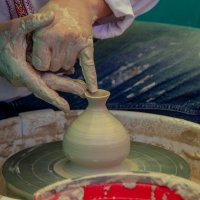 Мастер-класс по гончарному искусству :: Наталья Верхотурова