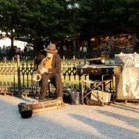 Старый музыкант :: Елена Гуляева (mashagulena)