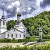 Преображенская церковь при музее-усадьбе мемориала М.Д. Скоболева :: Георгий