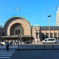 Центральный железнодорожный вокзал. Хельсинки. Финляндия. :: Олег Кузовлев