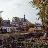 Ишимский дворик. Вид на церковь во имя Покрова Божьей Матери :: Александр Максимов