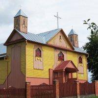 Костёл Святой Анны в  Дзержинске :: Евгений Кочуров