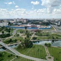 Парк возле Национальной библиотеки, г. Минск :: Tamara *