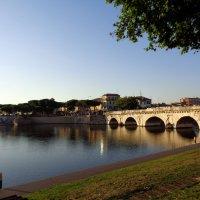 Мост Тиберия в Римини (Италия) :: Лара Амелина