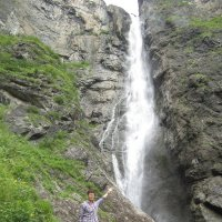 -Так вот он водопад Седой (он же Жираф) :: Galaelina ***