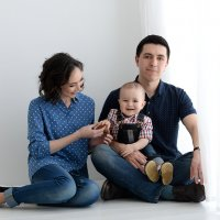 Семейная фотосессия. Женский портрет. :: Таня Турмалин