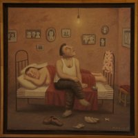Жена спит :: Елена Павлова (Смолова)