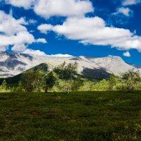 Небо,горы, лето,солнце :: Татьяна Вобликова
