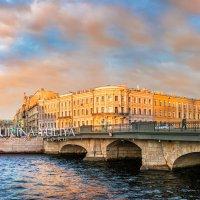 Мост Белинского через Фонтанку :: Юлия Батурина