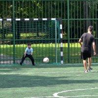 Маленький вратарь :: Яша Баранов