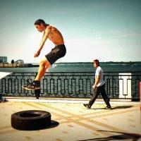 Зависший в воздухе.... :: Андрей Головкин