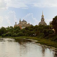Торжок. Вид на Борисоглебский монастырь. :: Oksanka Kraft