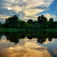 Отражение на закате :: Сергей Шаталов