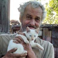 Любитель кошек :: Светлана Рябова-Шатунова