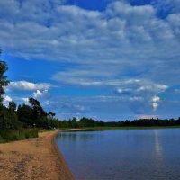 Волшебное небо над Меглецким озером... :: Sergey Gordoff